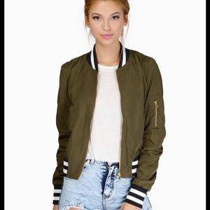 Tobi Bomber Jacket
